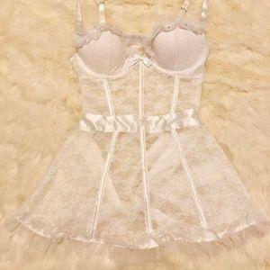 Victoria's Secret White Sexy Apron